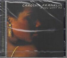 Carolyn Franklin - If You Want Me (CD) 1976  NEU/Sealed !!!