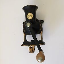 Vintage antique Spong & Coffee Mill Number 2 Iron Grinder made in England