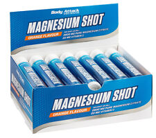 (39,00 Euro/Liter) Body Attack Magnesium Citrat Shots 20 x 25ml Ampulle
