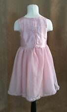 7 Girls H&M fancy dress occasion pink peach flower bridal wedding holiday