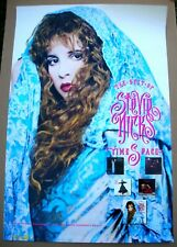 STEVIE NICKS TimeSpace Best Of Promo Poster Mint- 1991 ORIGINAL!