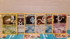 Vintage Pokemon Cards WOTC HOLO Lot: Gym Heroes/Gym Challenge *DAMAGED*/HP HOLOS