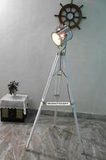 Vintage Spotlight  Floor lamp with Tripod stand Chrome Floor Lamp Spot Light