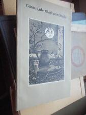 Günter Eich Abgelegene Gehöfte, Karl Rössing, Frankfurt 1948 gebunden Gedichte