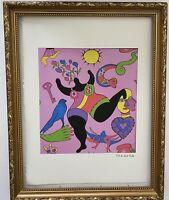 Niki De Saint Phalle - Lithographie signée et numérotée