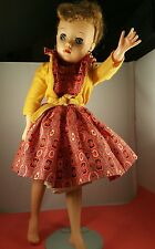 "Revlon Doll By Ideal 17"""" Tall  Vintage Outfit Is In Great Condition"