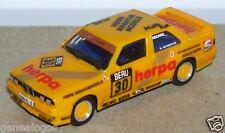 MICRO HERPA HO 1/86 1/87 BMW M3 JAUNE N°30 RALLYE