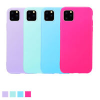 For Apple iPhone 11 Pro Max 11 Girly Soft Gel Rubber Protective Candy Case Cover