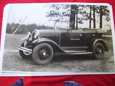 1931 FORD MODEL A TOURING USAW ? STAFF CAR  11 X 17  PHOTO /  PICTURE