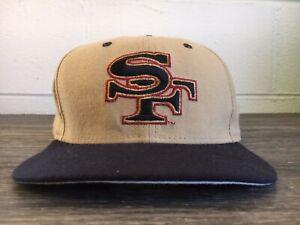 49ers Snapback New Era Vintage USA Hat SF Logo San Francisco Football Cap Niners