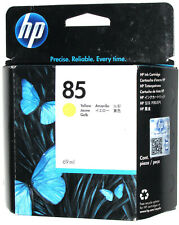 GENUINE HP # 85 YELLOW INK DESIGNJET 30 90 130 C9427A NEW SEALED