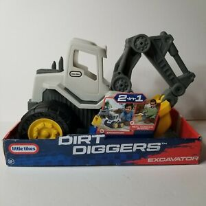Little Tikes Dirt Diggers 2-In-1 Excavator With Removeable Shovel Active Play