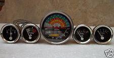 IH Farmall 460, 560 Gas/Diesel -Tachometer+Temp+Oil Pressure+Ampere+ Fuel Gauge