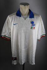 Italien Trikot 1996 Gr. L Nike Jersey WM Away weiß Italy maglia WM 90s Italia