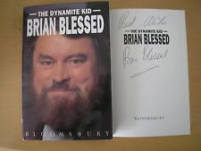 BRIAN BLESSED - THE DYNAMITE KID  HB/DJ  1st/1st 1992  SIGNED & LINED