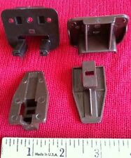 2 Kenlin Rite-Trak Track Dresser Drawer Replacement Part Guide Glide Stop Socket