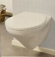 Miomare Toilet Seat D-Shape Fits All Standard D-Shape Toilets High Quality