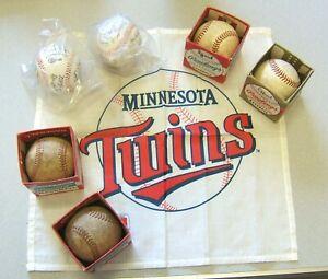 Vintage Baseballs & 1987 Minnesota Twins Collectibles