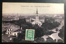 1931 Tallinn Estonia Real Picture Postcard Cover To Berwyn USA City View