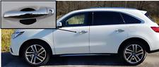 Acura MDX Auto Accessory Carbon Fiber Car Door Handle Scratch Protector Guard 4