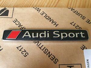 Genuine Audi Audi Sport Badge Emblem Logo A6 S6 RS6 A8 S8 R8 4S0853737D2ZZ
