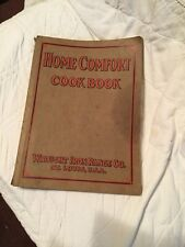 Home Comfort Cook Book Wrought Iron Range Co. 1916