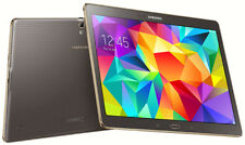 SAMSUNG Galaxy Tab S SM-T805 4G~UNLOCKED~ 16GB, 10.5in-Titanium Bronze~SIM FREE~