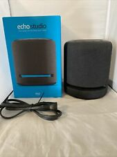Amazon Echo Studio Smart Speaker - Charcoal