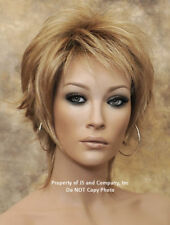 Sienna wig TressAllure Noriko shaggy tapered back natural razor cut Hair Piece