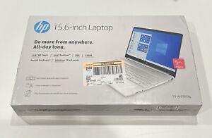 "NEW HP Laptop 15.6"" FHD Intel Pentium Gold 256GB SSD 8GB RAM Win 10 Home S Mode"