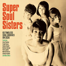 Super Soul Sisters - 60 Timeless Soul Grooves (3CD 2016) NEW/SEALED