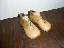 alte Kinder Schusterleisten / Schuhleisten 1 Paar 12cm lang 5 1/2 breit Mini