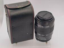 Sigma 70-210mm F4-5.6 Nikon AF Mount FX DSLR Camera Zoom Lens & Case *Haze*