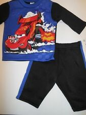 Boys sweatsuits Shirts Sweatshirts Sweatpants Race Cars Disney Baby Outfit 3-6mo
