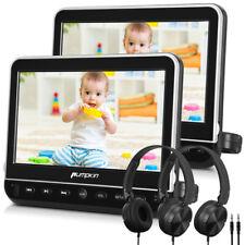"""2X10.1"""" TFT Auto Kopfstütze DVD Player 1024*600 HDMI 1080P HD USB SD+2*Kopfhörer"""