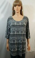 NWT NEW Bobbie Brooks Size 2X 22/24 Top Shirt Blouse Casual Work Clothes Outfit