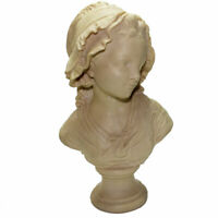 Grinam Niam Paris Bust Sculpture Signed