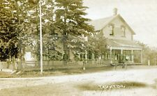 Taunton,Ontario - Rare Herington Real Photo Vintage Digital Image of Post Office