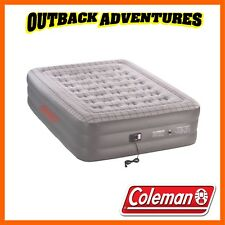 COLEMAN QUICKBED DOUBLE HEIGHT QUEEN AIR MATTRESS WITH BUILT IN 240V PUMP