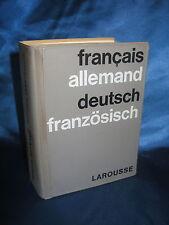 DICTIONNAIRE FRANCAIS-ALLEMAND / DETSCH-FRANZOSISCH / PINLOCHE-JOLIVET/ LAROUSSE