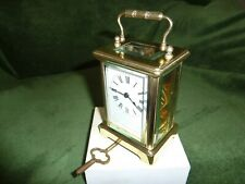 More details for antique brass carriage clock