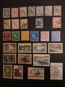 Stamps European Finland