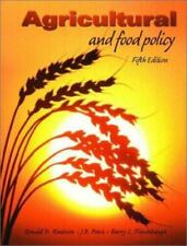 Agricultural and Food Policy, Fifth Edition