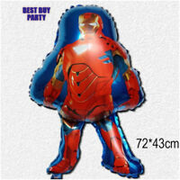 "Ironman Balloon Helium Party Birthday Superhero Avengers 28"""