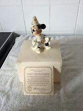 MICKEY MOUSE SORCERERS APPRENTICE ORNAMENT BY LENOX. CHRISTMAS TREE DECORATION.