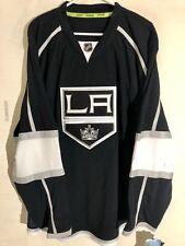 Reebok Authentic NHL Jersey Los Angeles Kings Team Black sz 50