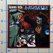 """Wu Tang GZA Liquid Swords 4"""" Color Vinyl Decal Sticker BOGO"""