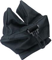 Front & Rear Rifle / Air Gun Bench Rest Bag Hunting Target Shooting Gun - Black