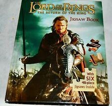 Lord of the Rings Return of the King Jigsaw Puzzle Book 5 48 Piece Hobbit Troll