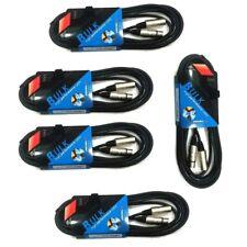 PROEL BULK250LU5 pacchetto kit convenienza (5 unità) cavi cable XLR-XLR 5 metri